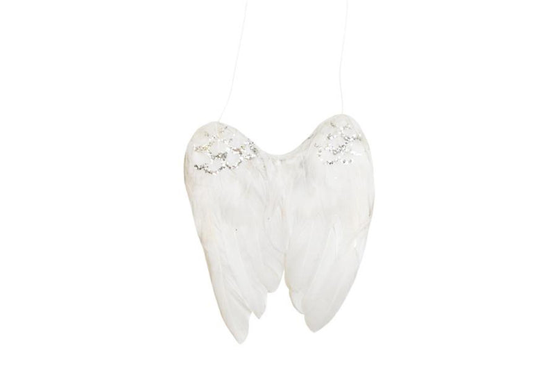 Angel Wings Christmas Decoration - Pop Roc Parties