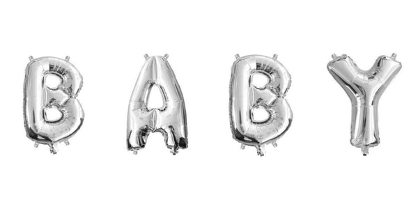 Mini Silver Foil Letter 'B' Balloon | Pop Roc Parties