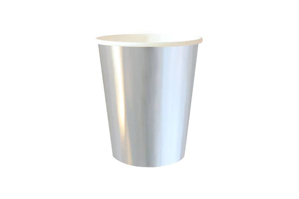 Silver Foil Cups | Pop Roc Parties