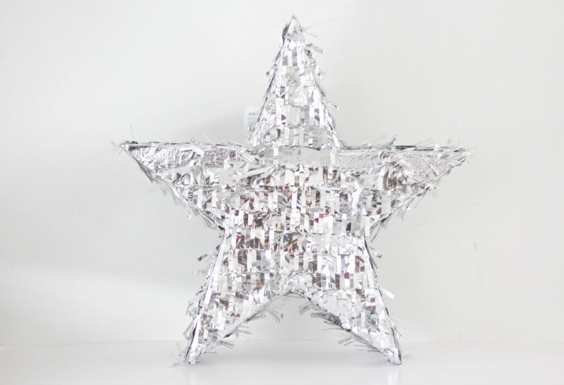 Silver Star Pinata | Pop Roc Parties