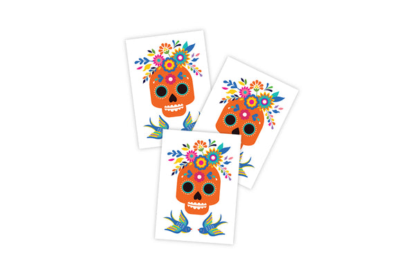 Skull Temporary Tattoos | Pop Roc Parties