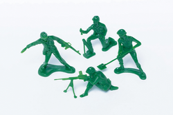 Soldier Cupcake Toppers | Pop Roc Parties