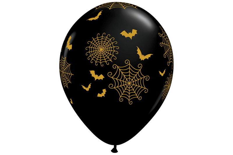 Spider Web & Bat Balloons