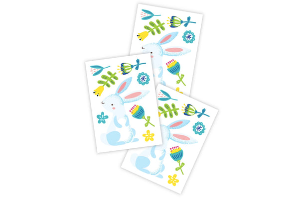 Spring Bunny Temporary Tattoos | Pop Roc Parties