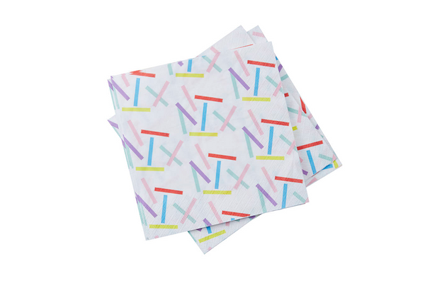Sprinkles Napkins | Pop Roc Parties
