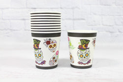 Sugar Skull Paper Cups | Pop Roc Parties