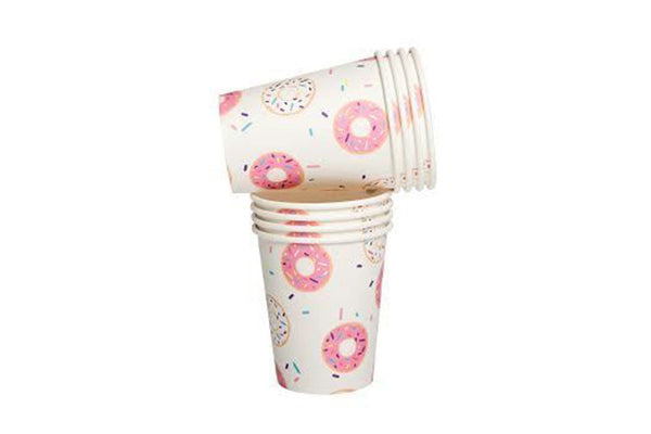 Donut Paper Cups - Pop Roc Parties