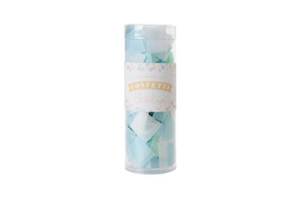 Mint & Blue Tissue Confetti - Pop Roc Parties