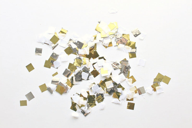 Metallic Tissue Confetti - Pop Roc Parties