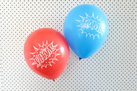 Super Hero Balloon Pack