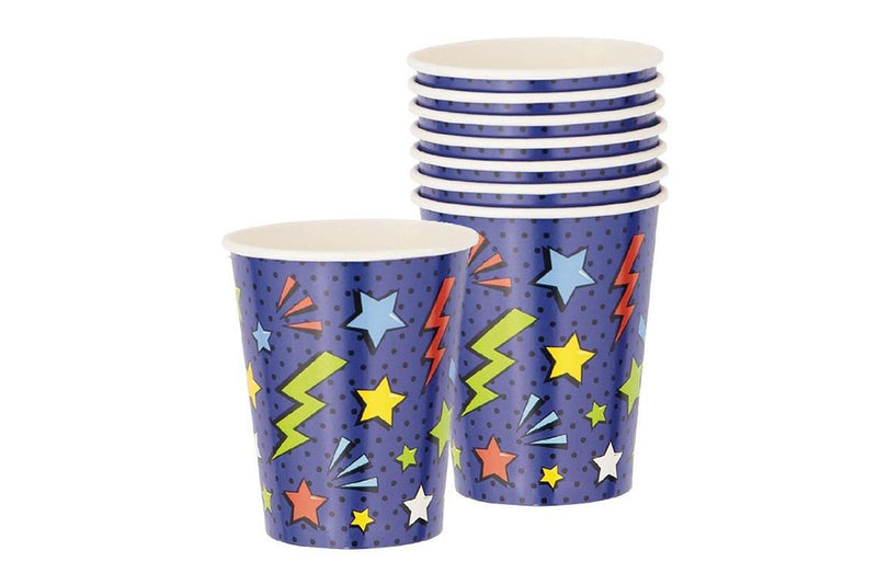 Superhero Party Cups-Pop Roc Parties