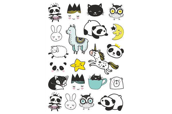 Sweet Doodles Temporary Tattoos | Pop Roc Parties