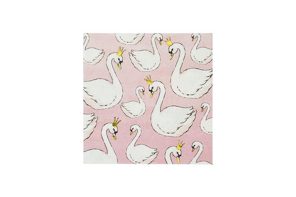 We Heart Swans Napkins