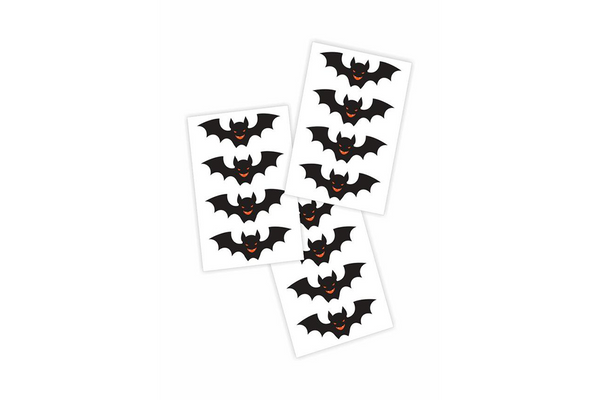 Bats Temporary Tattoos - Pop Roc Parties