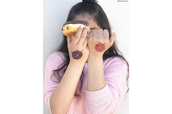 Donuts Temporary Tattoos | Pop Roc Parties