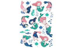 Mermaid Friends Temporary Tattoos | Pop Roc Parties