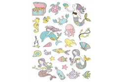 Under the Sea Temporary Tattoos | Pop Roc Parties