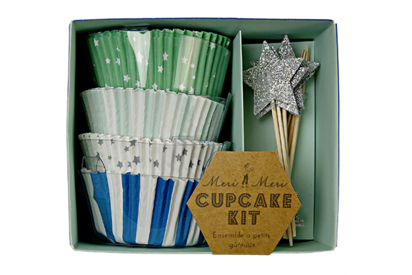 Toot Sweet Blue Cupcake Kit - Pop Roc Parties