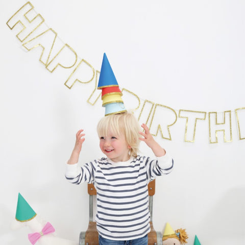 Toot Sweet Happy Birthday Party Hats