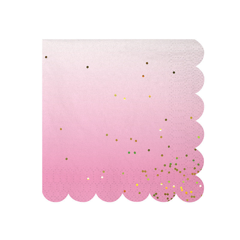 Toot Sweet Ombre Small Napkins | Pop Roc Parties