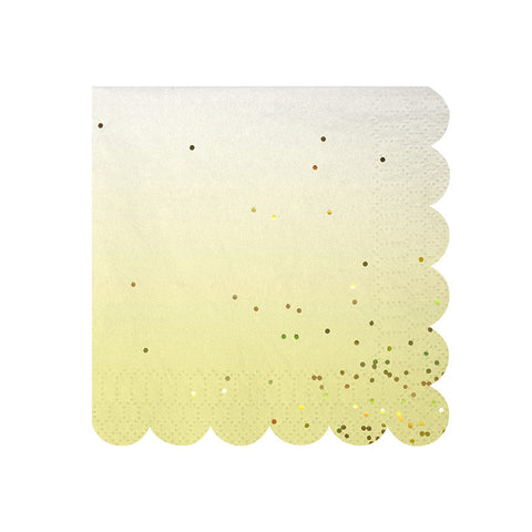 Toot Sweet Ombre Small Napkins - Pop Roc Parties
