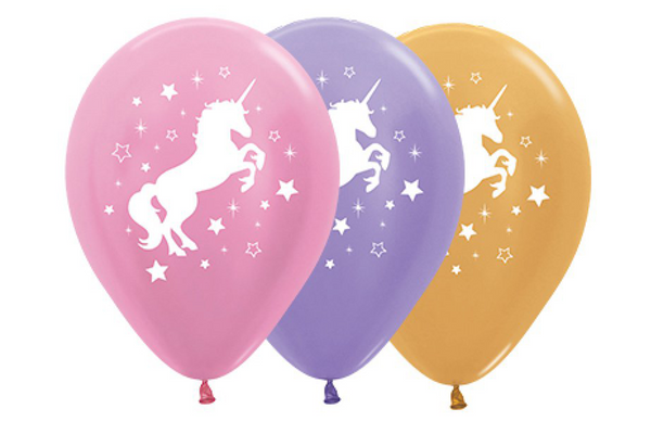 Unicorn Sparkles & Stars Balloon Pack
