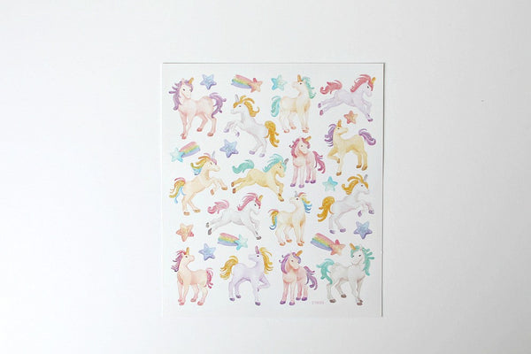Unicorn Stickers - Pop Roc Parties