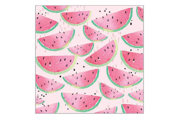 Watermelon Paper Napkins - Pop Roc Parties