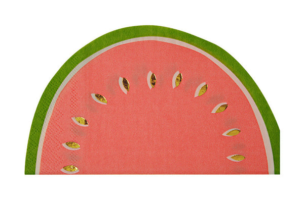 Meri Meri Watermelon Napkins - Pop Roc Parties