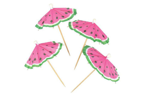 Watermelon Umbrella Toothpicks