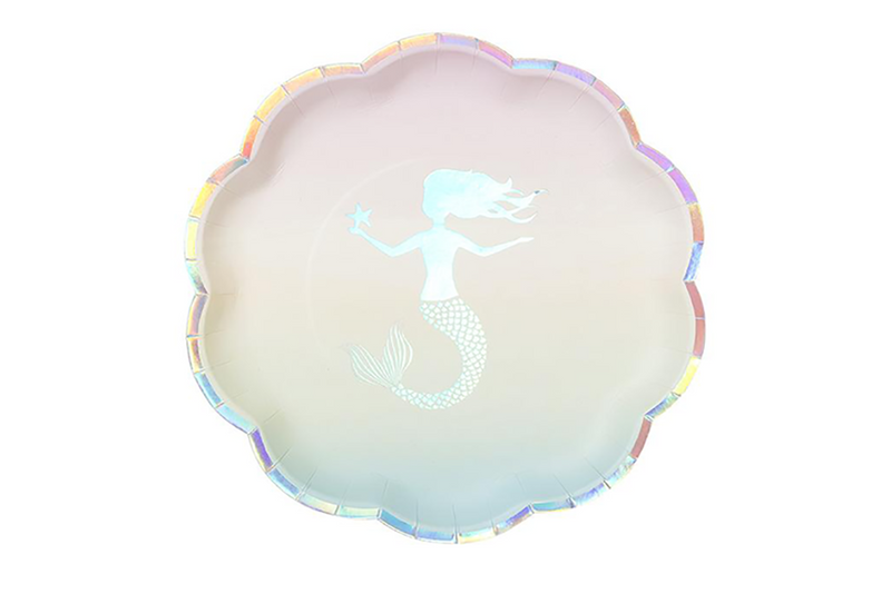 We Heart Mermaids Party Plates
