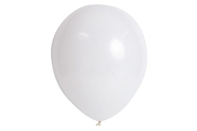 White Balloon Pack | Pop Roc Parties