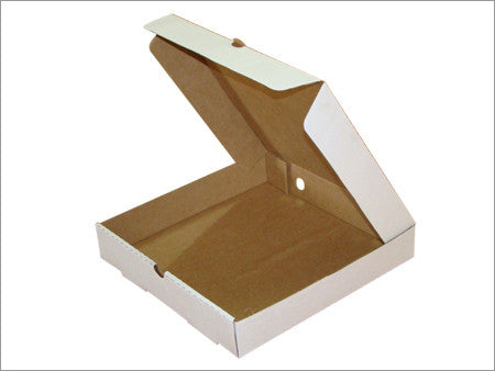 Large White Pizza Boxes - Pop Roc Parties