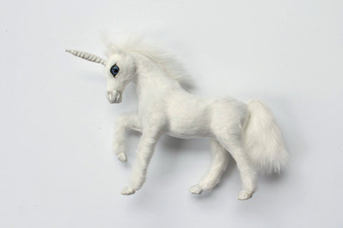 White Furry Unicorn