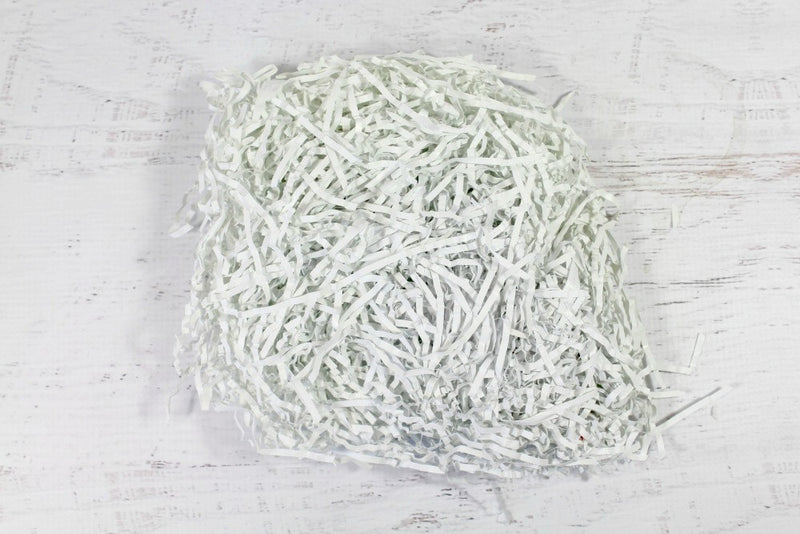 White Shredded Paper | Pop Roc Parties