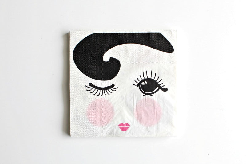 Miss Etoile Winking Eye Napkins - Pop Roc Parties
