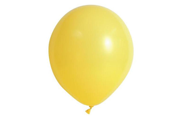 Mini Yellow Balloon - 12cm-Pop Roc Parties
