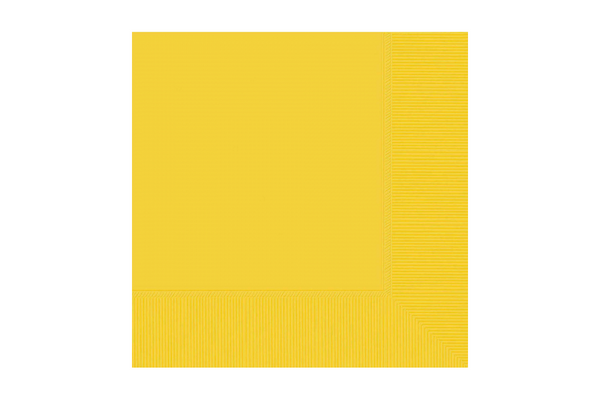 Yellow Beverage Napkins | Pop Roc Parties