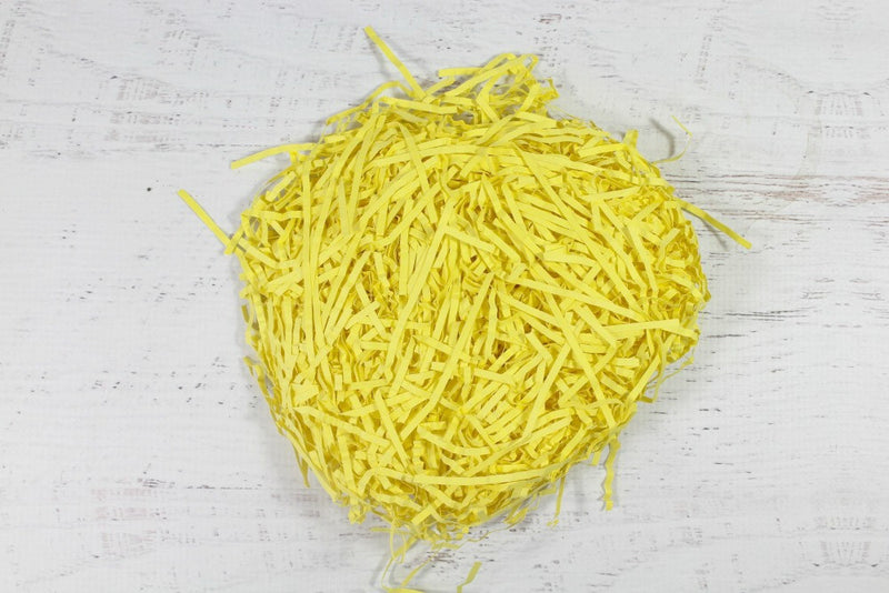Yellow Shredded Paper | Pop Roc Parties