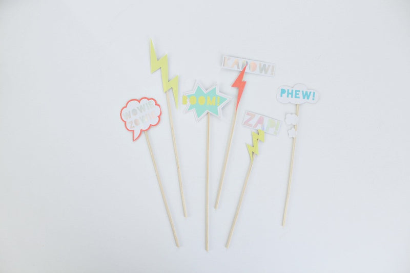 ZAP! Party Cake Toppers - Pop Roc Parties