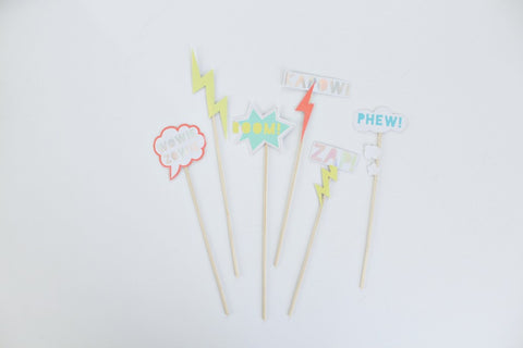 ZAP! Party Cake Toppers