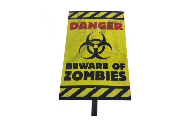 Beware of Zombies Yard Sign | Pop Roc Parties