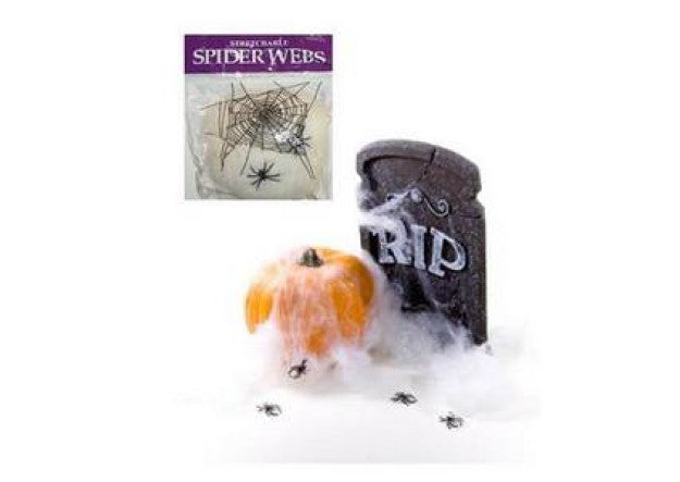 Halloween Spider Webs - Pop Roc Parties