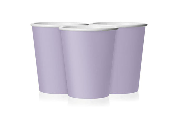 Lavender Paper Cups - Pop Roc Parties