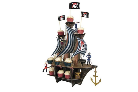 Ahoy There! Pirate Ship Centrepiece
