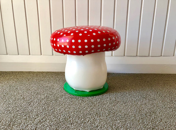 Toadstool Seat | Pop Roc Parties