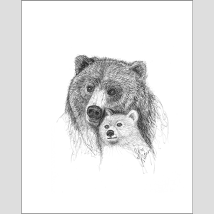 "Bear ""Overlook"" - Giclee Print"
