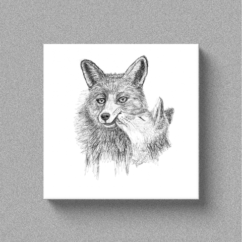 "Fox ""Sweet"" - Canvas"