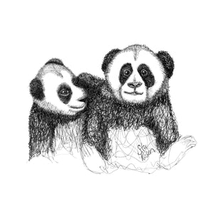 "Panda - ""Salt n Pepper Set"""