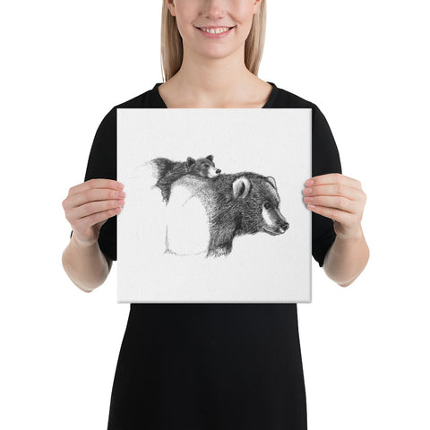 "Bear ""Bear Hug"" - Canvas"